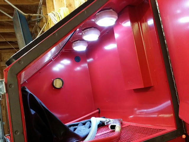 Media Blasting Part Ii Setting Up A Sandblast Cabinet Powder Coating The Complete Guide