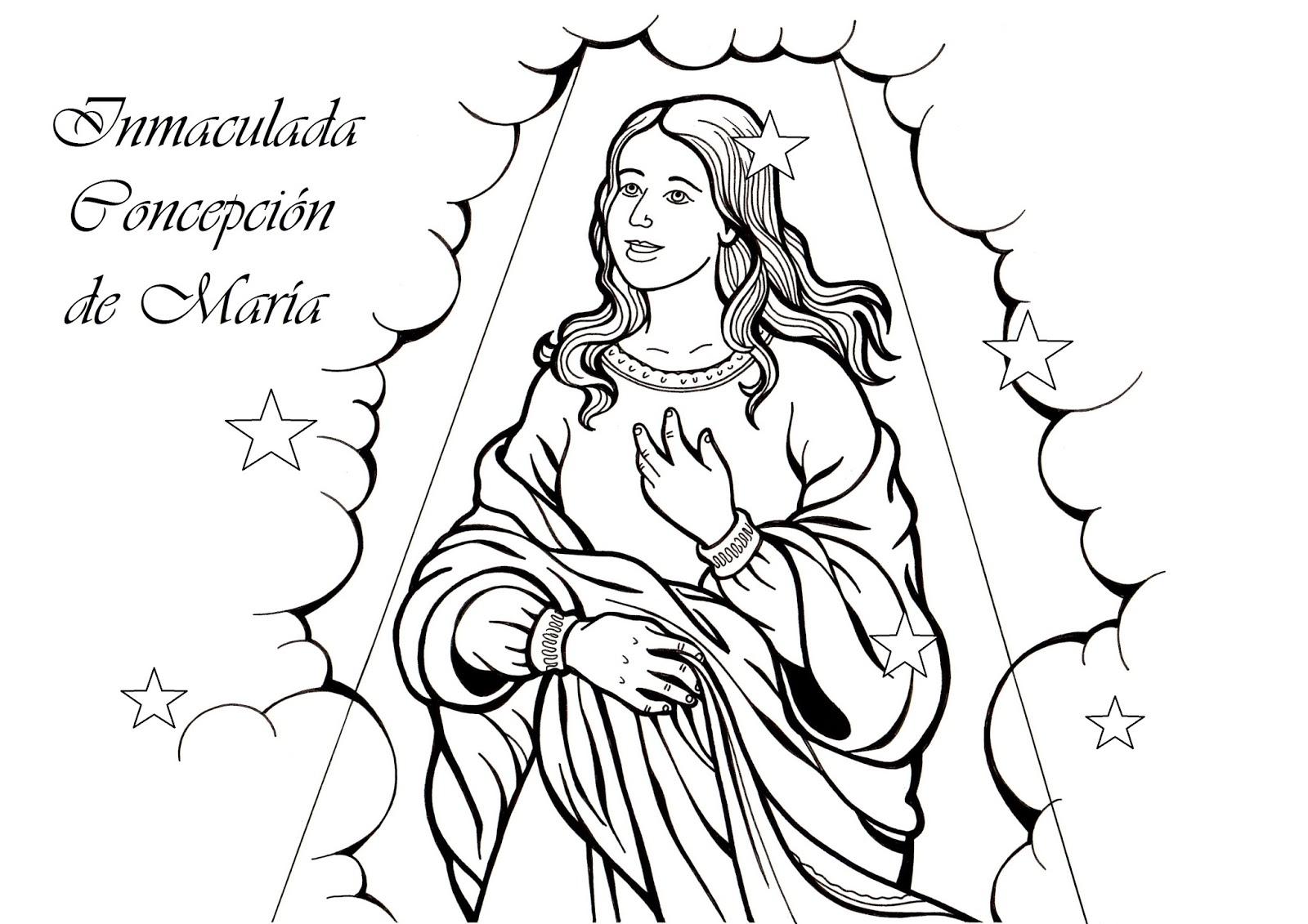 El Rincon De Las Melli Lamina Inmaculada Concepcion De Maria