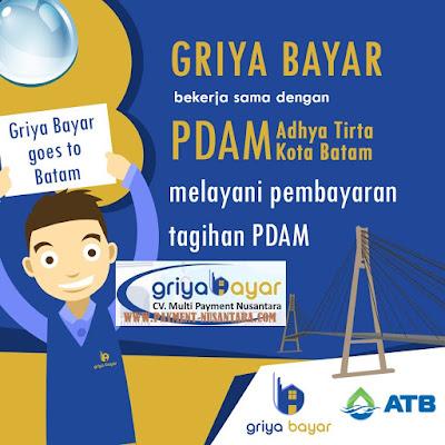 Daftar Griya Bayar PDAM Adhya Tirta Kota Batam
