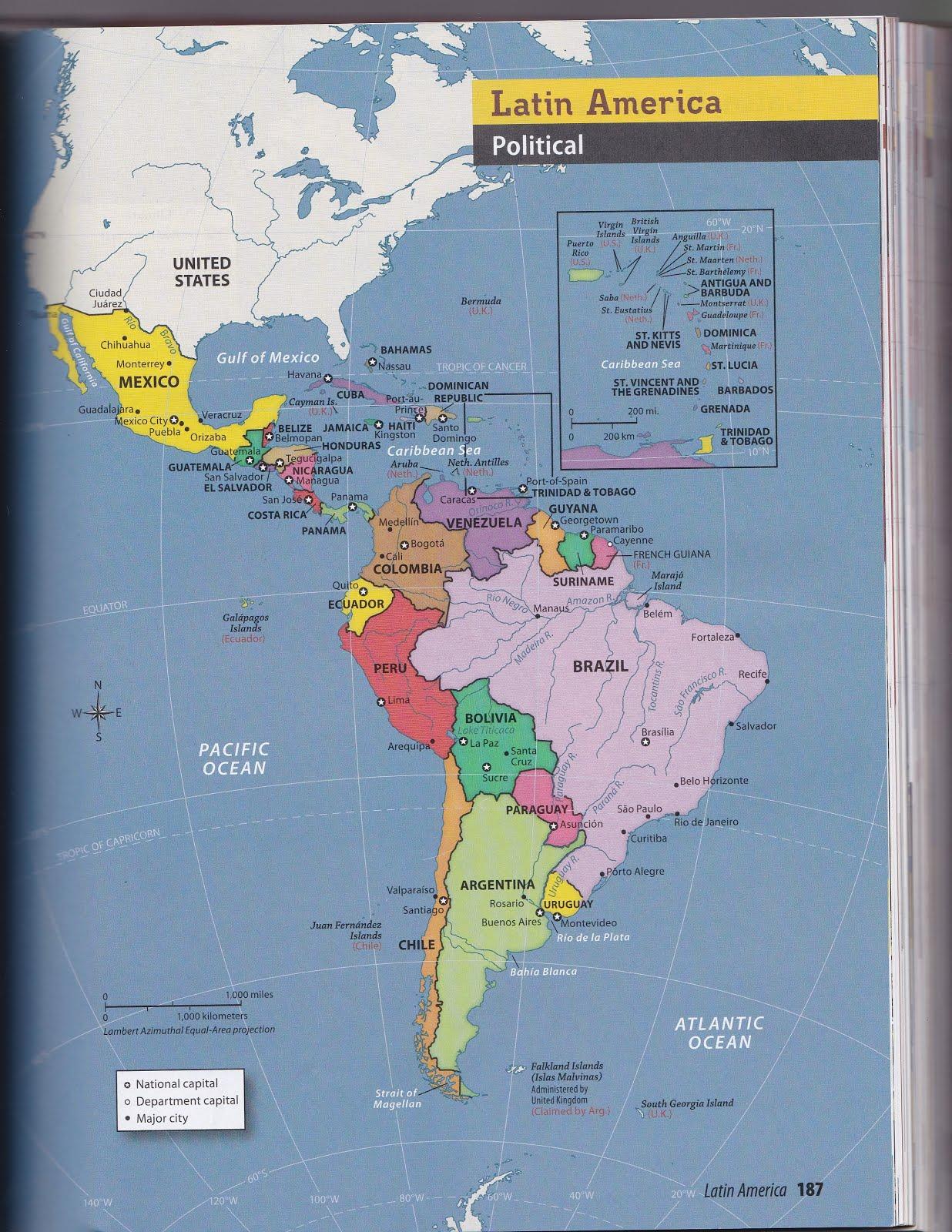 Mr Izor S Akins Geography Latin America Mapping Lab Part