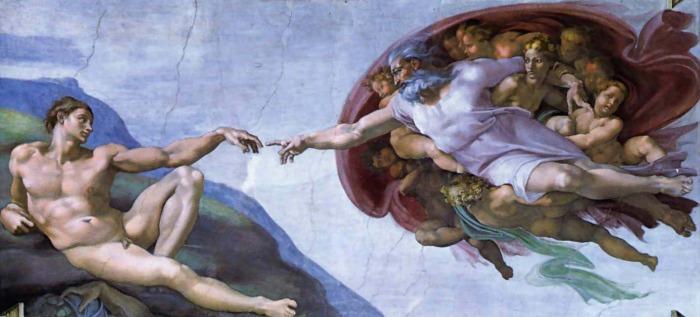 Микеланджело. Сотворение мира