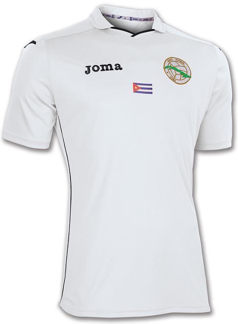 6815d57c9e Joma é a nova fornecedora de uniformes de Cuba - Show de Camisas