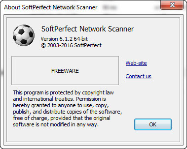 SoftPerfect Network Scanner v6.1.2 Terbaru