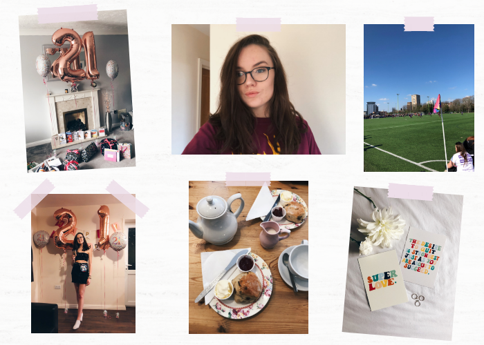 A lifestyle roundup of my week at university featuring all I've bought, watched, eaten, seen and been up to. Featuring my 21st birthday, three cream teas and varsity against Portsmouth