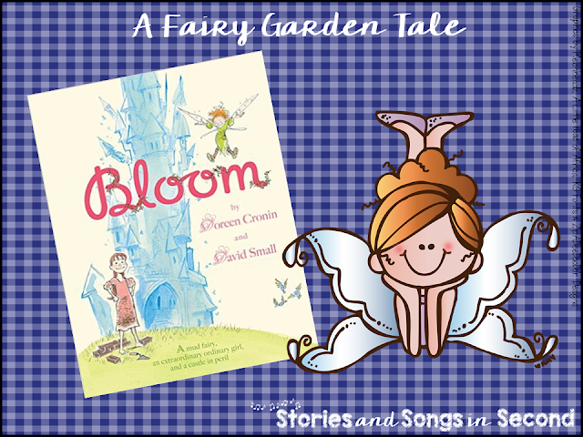 Primary grade students will love reading Doreen Cronin's Bloom, and then completing the free companion fluency practice and creative writing activities. Ideas for creating a classroom fairy garden are also included.