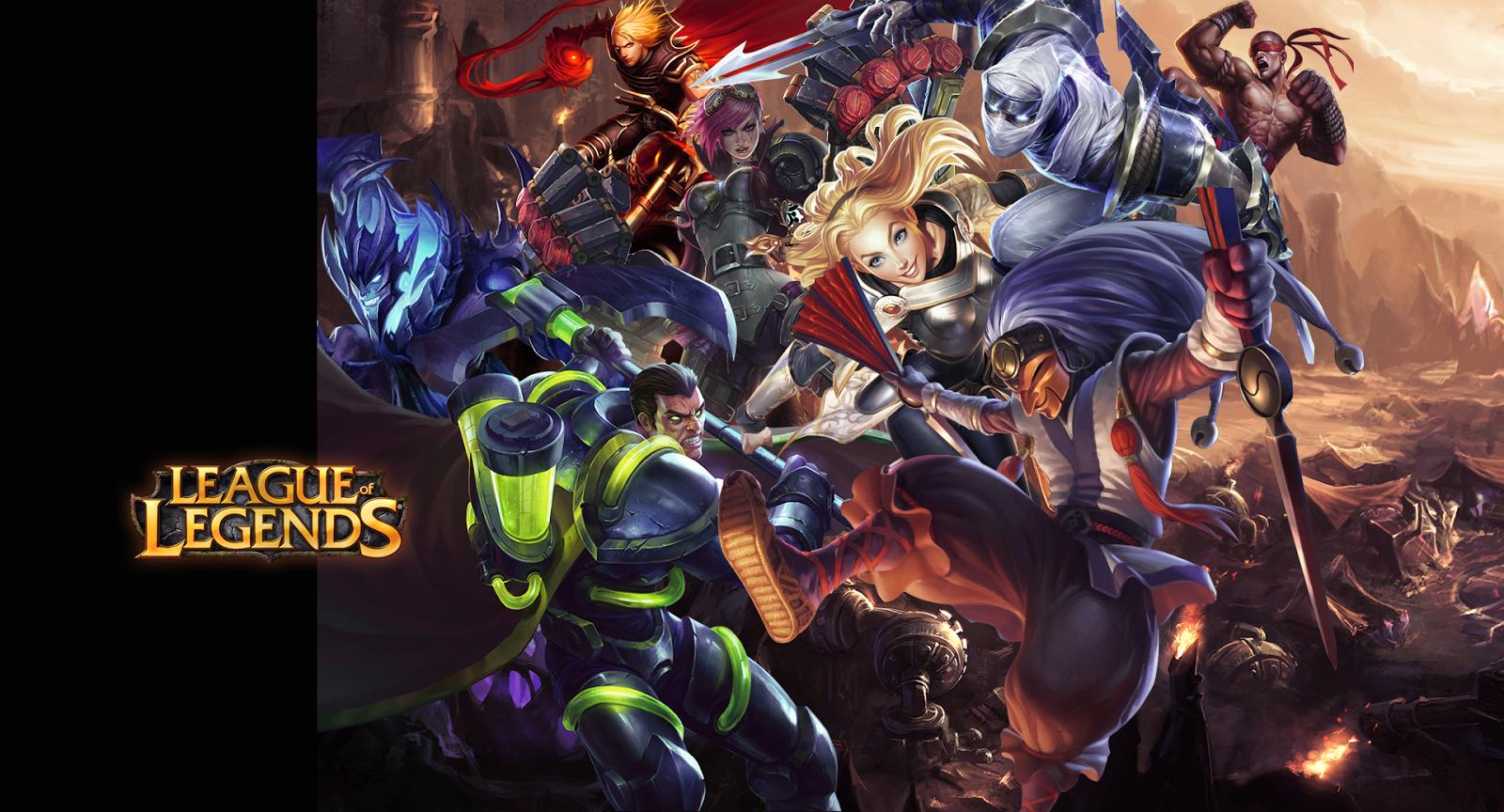 Site oficial league of legends