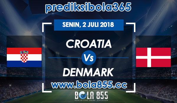 Prediksi Bola Croatia vs Denmark 2 Juli 2018