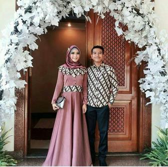 Koleksi Baju Batik Couple Untuk Pesta