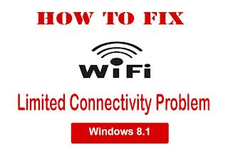 Cara Mengatasi Wifi.id Limited Access Windows 8/8.1 1