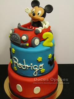 O Mickey no 2º aniversário do Rodrigo