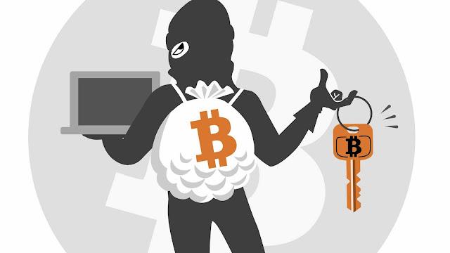 Ladrones de bitcoin
