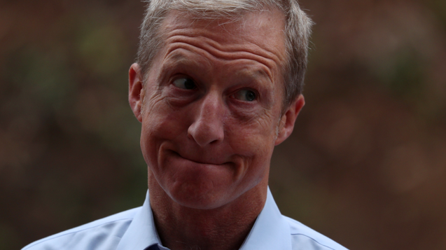 TOM STEYER ACCUSES REPUBLICAN HOUSE LEADER OF ANTI-SEMITISM