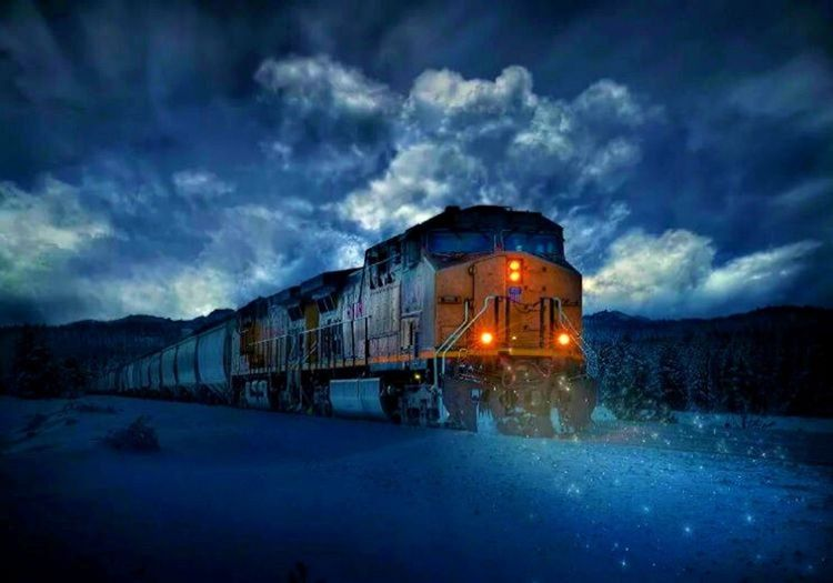 5 bin tonluk bir yük treni, yolcu trenlerine nispeten daha yavaş hareket edecektir.