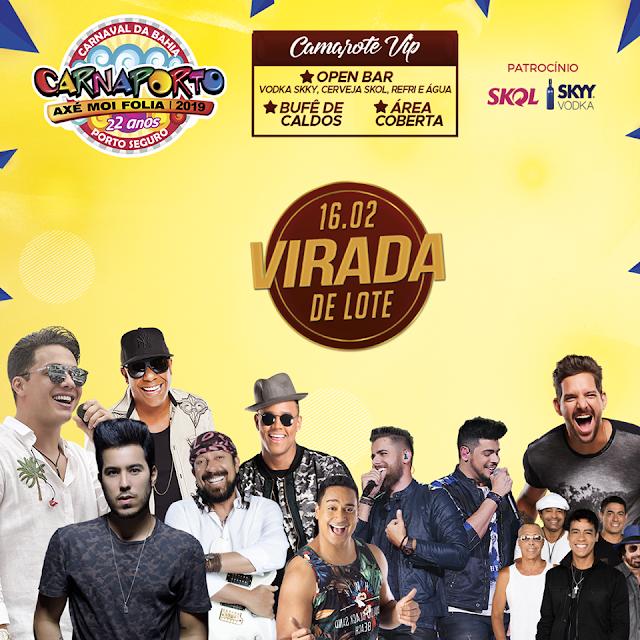 O CARNAPORTO 2019 ENTRARÁ NO ÚLTIMO LOTE NO DIA 16/02!