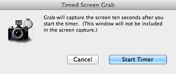 Print Screen on Mac With Timer
