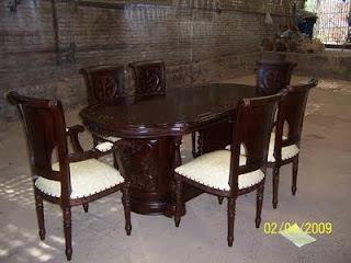 kursi meja makan salina murah jepara