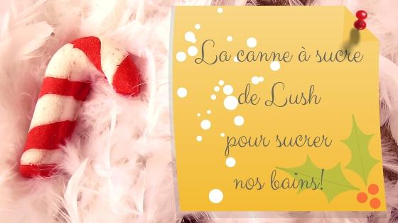 Candy Cane Bubble Bar - Pain Moussant - Collection Noël