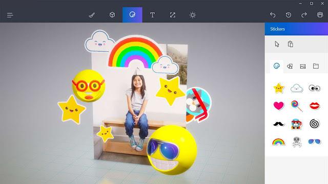 Inilah Fitur dan Kecanggihan Aplikasi Paint 3D di Windows 10