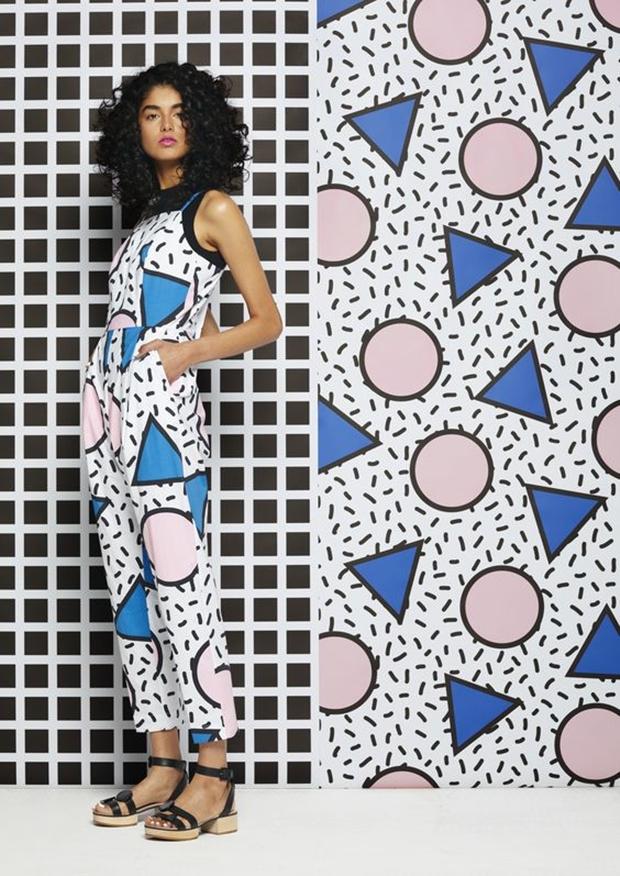Memphis na moda Christian Dior