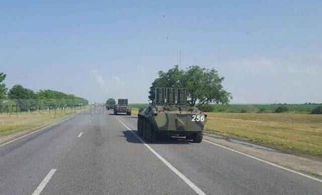 Київ відреагував на пересування бронетехніки на кордоні з Україною в Зоні безпеки Придністров'я