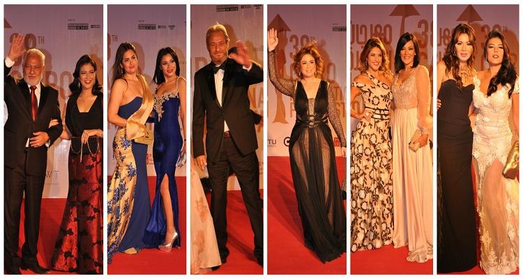 أكثر 6 صور لفساتين النجمات صدمت الجمهور بمهرجان القاهرة السينمائي