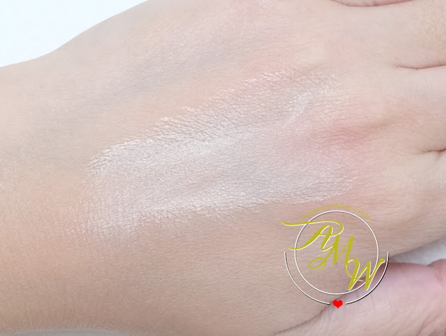 a swatch photo of Make Up For Ever HD Skin Perfector Review