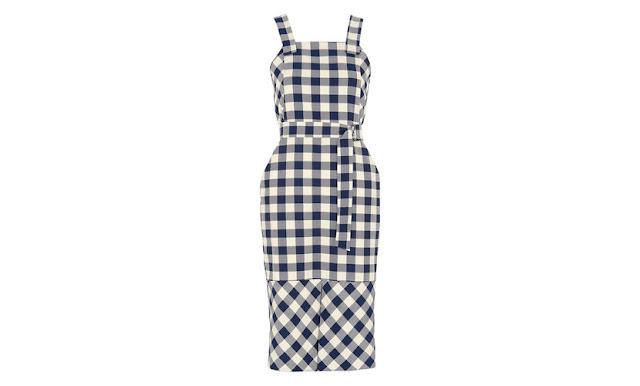 whistles check dress,