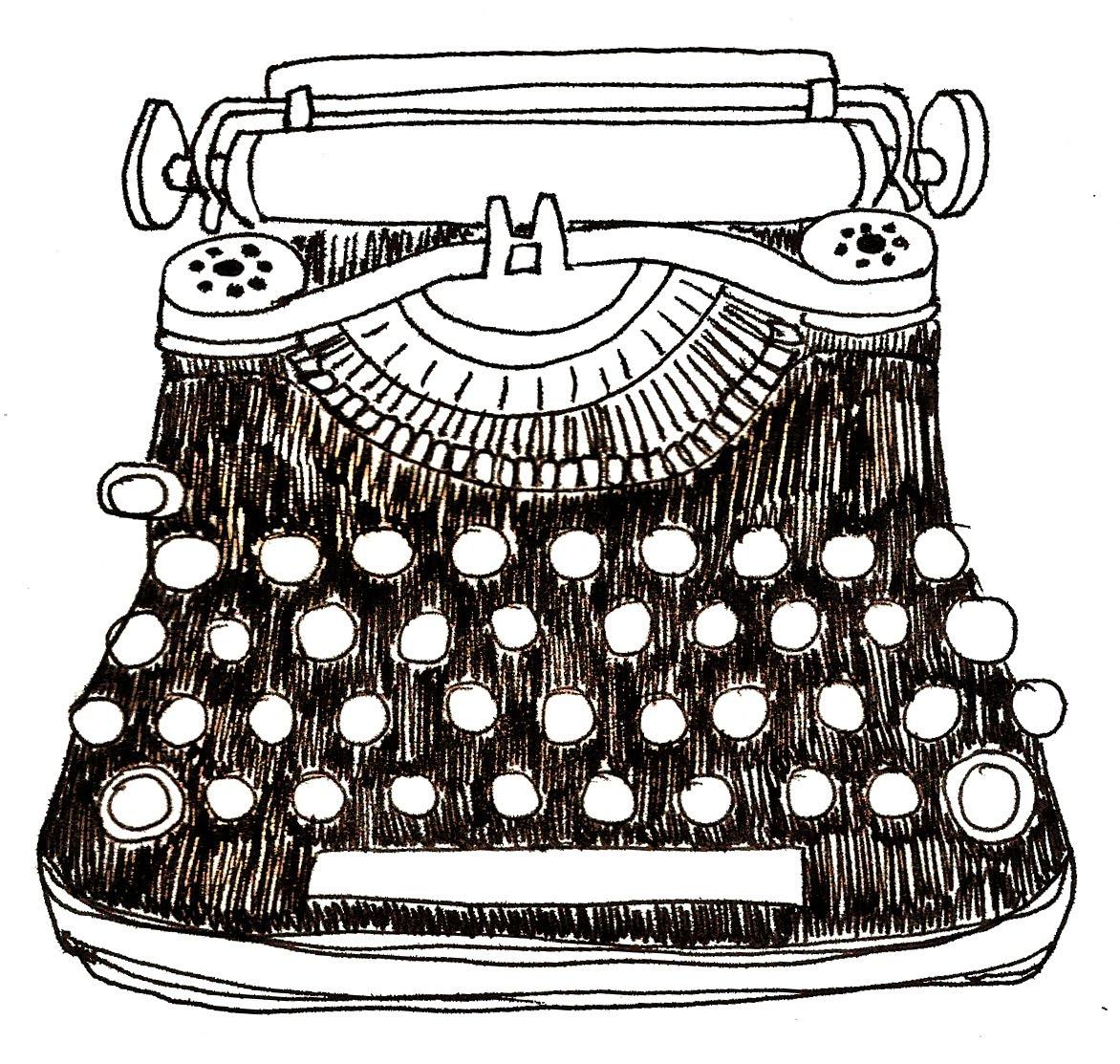 BlanketStitch: SKETCH - Typewriter