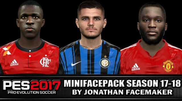 Facepack Season 17-18 PES 2017