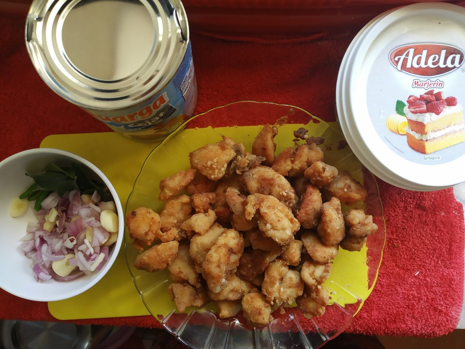 Farah Adila Blog Resepi Buttermilk Chicken