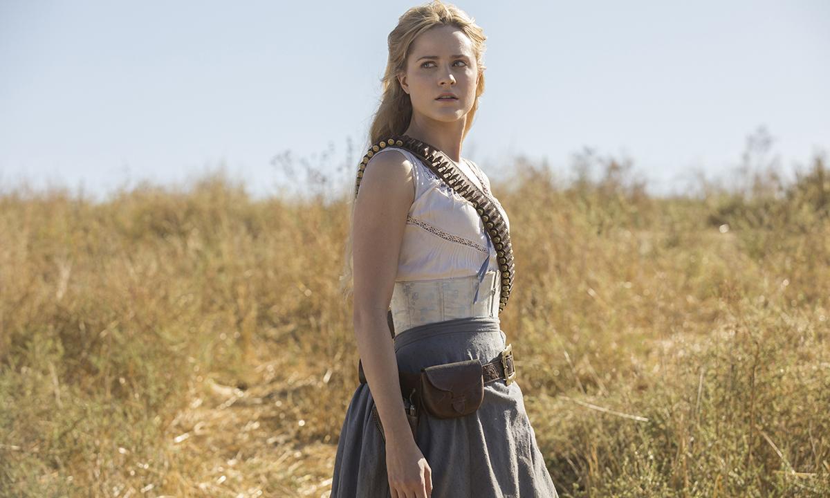 Dolores (Evan Rachel Wood) en la segunda temporada de 'Westworld'