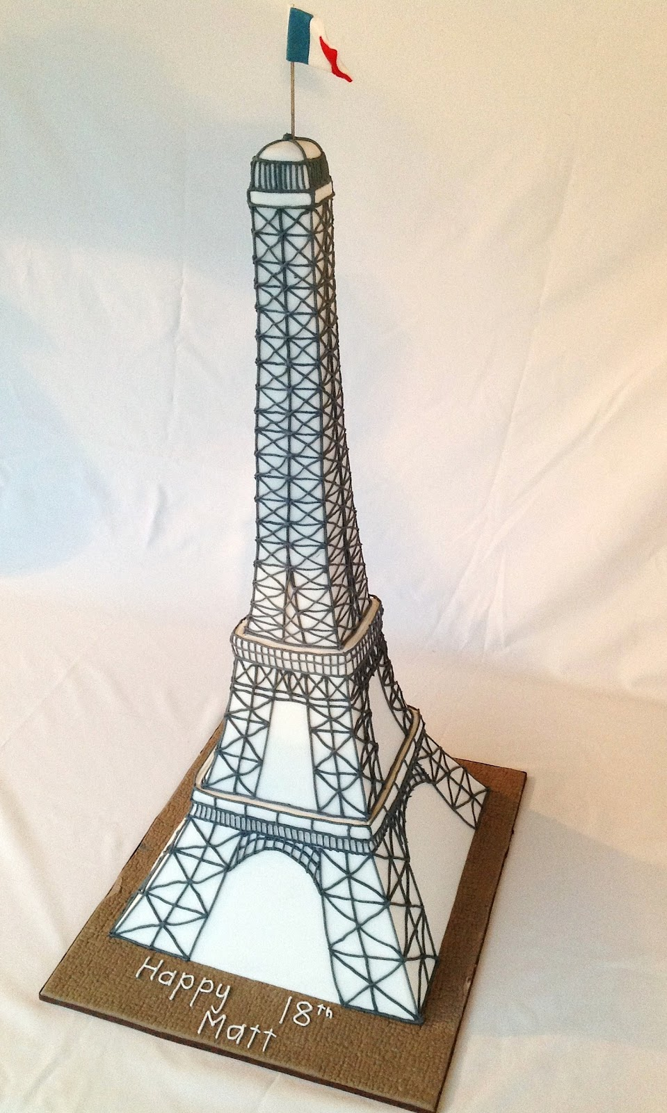 Excellent Eiffel Tower Cake Template Photos Example Resume And