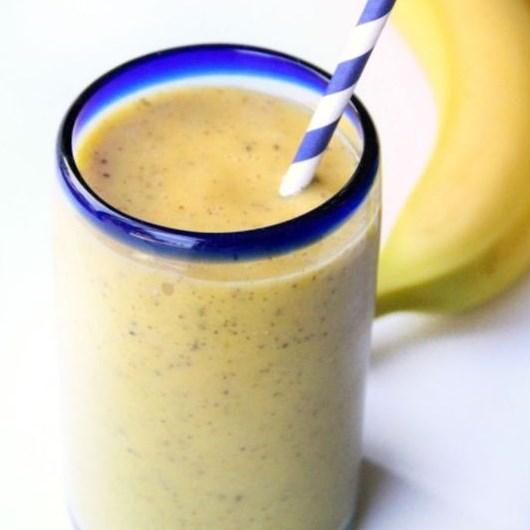 Banana Mango Smoothie #Drink #Healthy