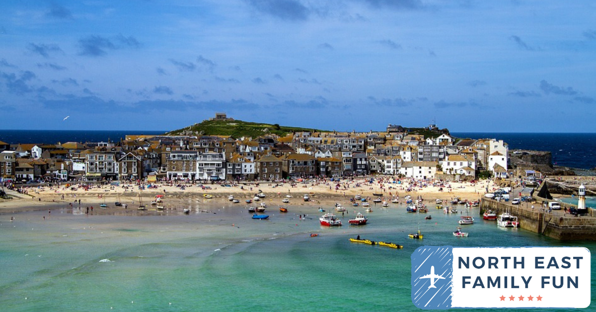 Driving to Cornwall from Newcastle with Kids | Our nine day itinerary for February Half Term