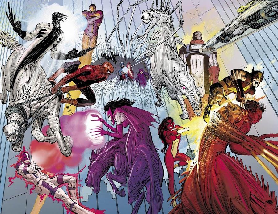 avengers vs apocalypse