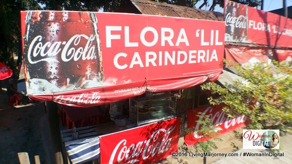 Flora Carinderia selling Coke and other Coca Cola products for more than 35 years.
