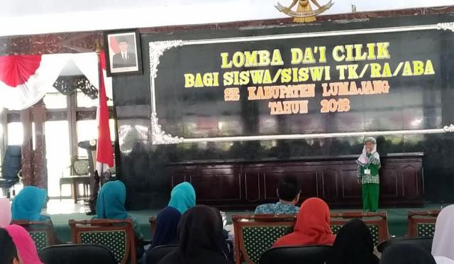 Lomba Da'i Cilik se-Kabupaten Lumajang