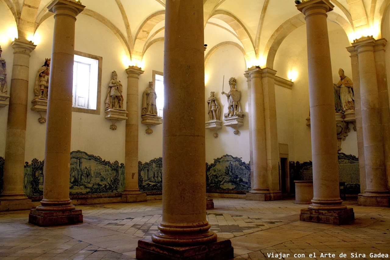 sala dos reis Alcobaça