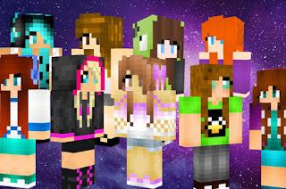 9 skins de chicas de minecraft