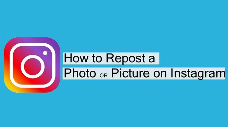 cara repost video dan foto instagram