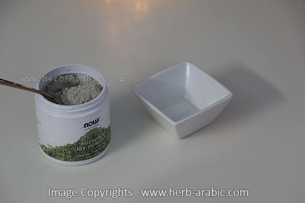 طريقة استخدام بودرة الطين الاوروبي