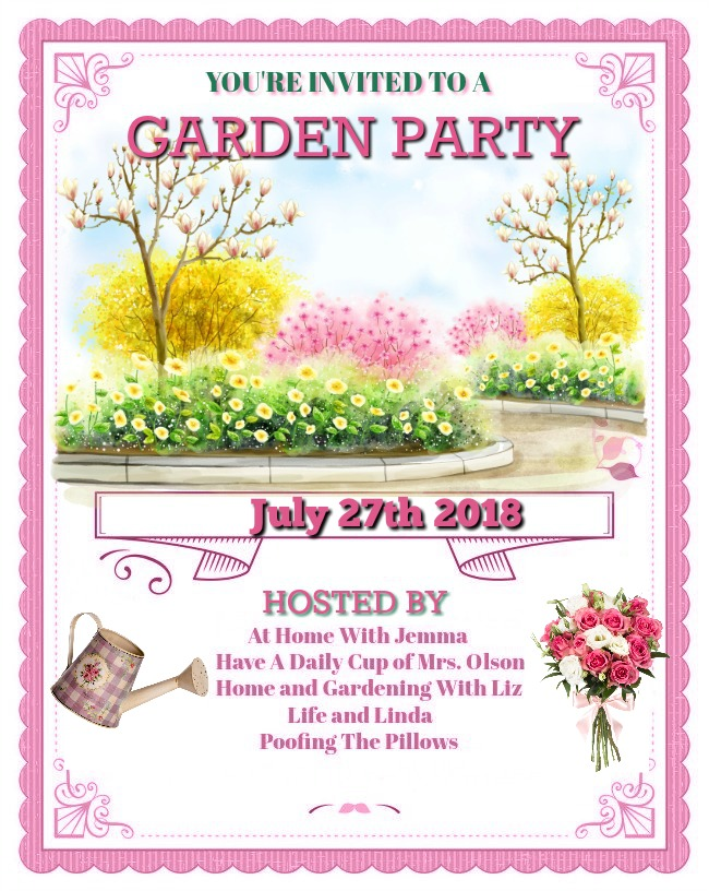 Please join us and link up your garden posts on July 27th.