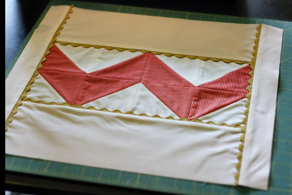 How To Make A Pillow Sham Or Cover Sewing Pattern Tip