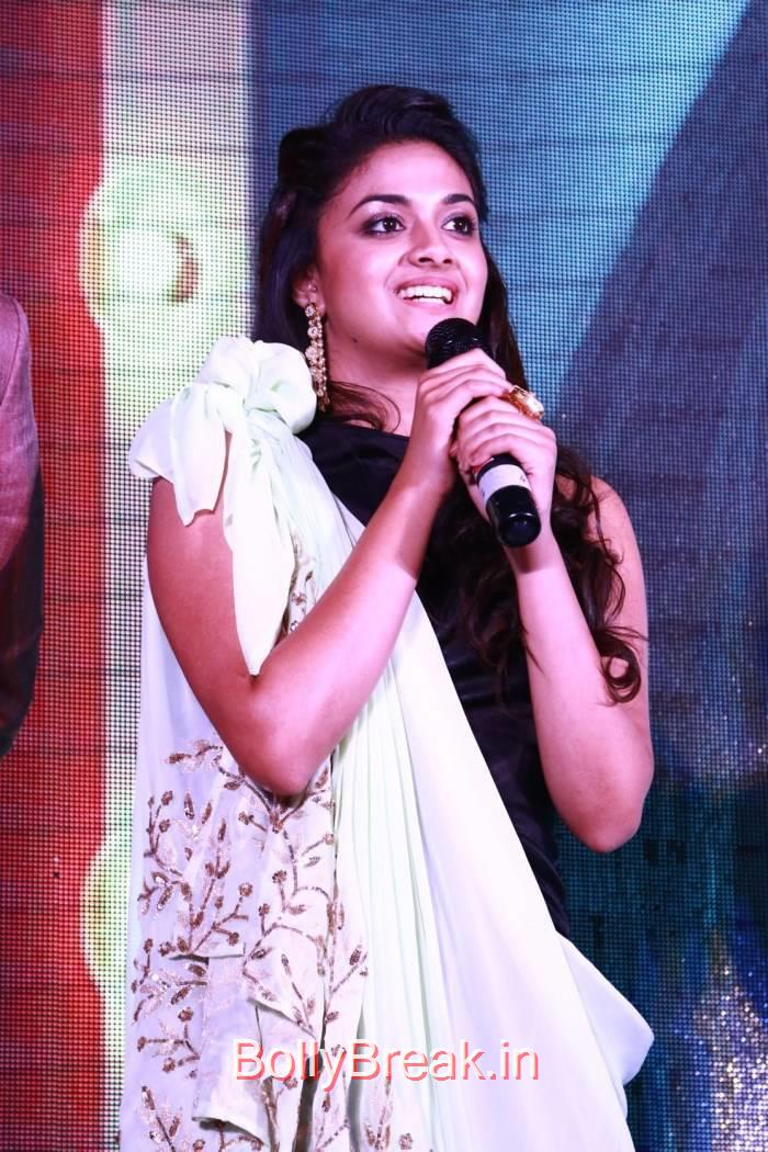 Keerthi Suresh images, Hot HD Pics of Suresh from Idhu Enna Maayam Movie Audio Launch