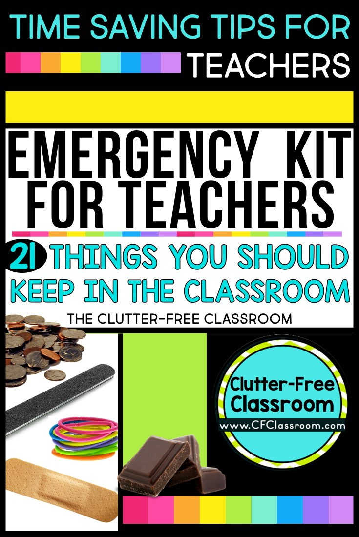 Teacher Emergency Kit Ideas - How to Create a Teacher Emergency ...