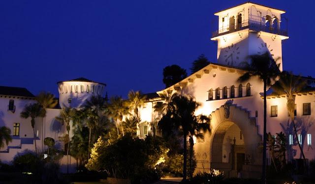 Courthouse em Santa Bárbara na Califórnia
