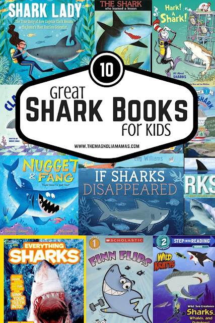 10 Great Shark Books for Kids.