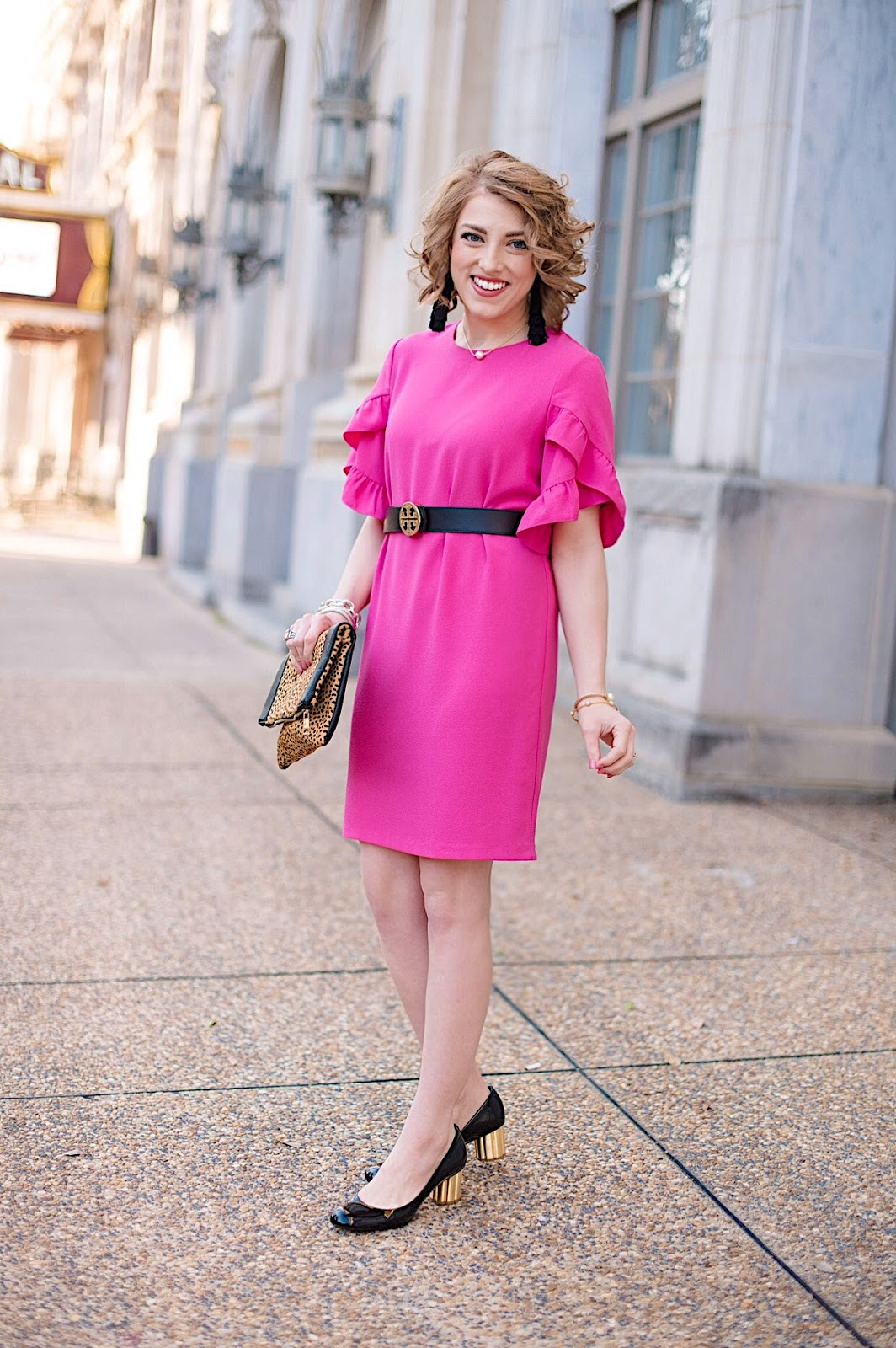 Pink, Black and Leopard - Something Delightful Blog