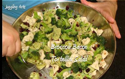 Juggling Act Mama: Broccoli Bacon Tortellini Salad
