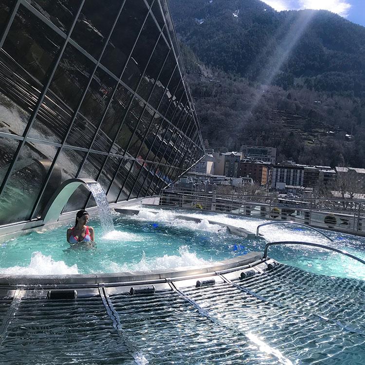Visita Imprescindible en Andorra: Spa Inúu Caldea